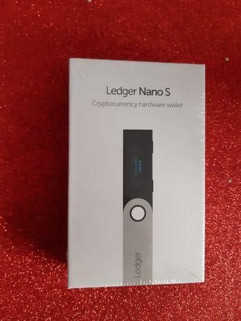 Ledger Nano S - Crypto Wallet / Нов физически портфейл за крипто