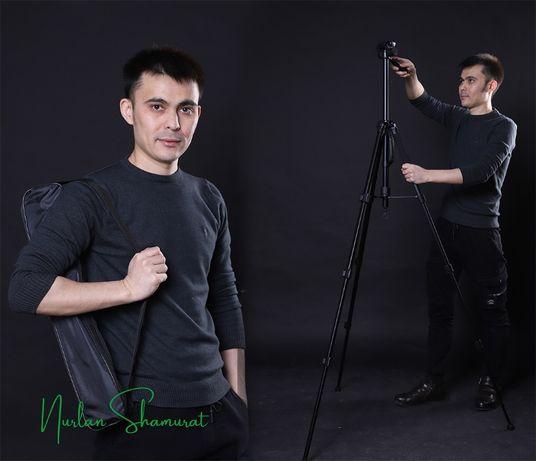 Мощный Штатив 2в1 для фото камеры и смартфона