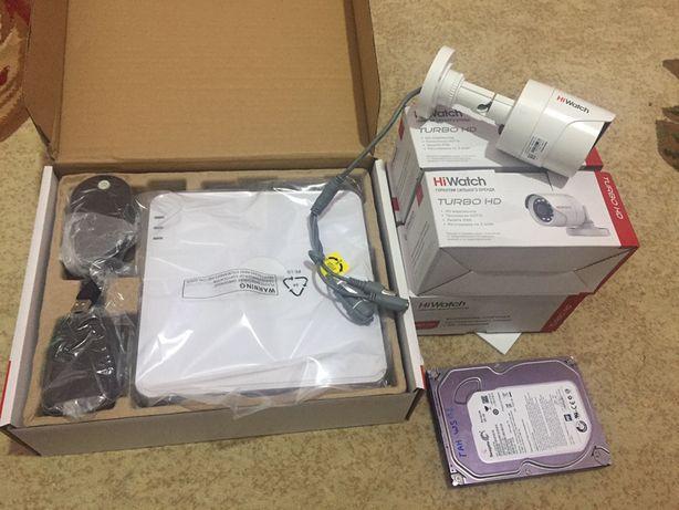 Комплект камера 4 канал регистратор