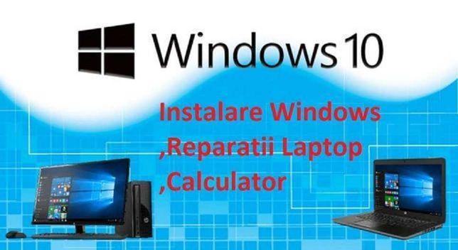 Instalez Windows , office , drivere , Reparatii laptop , calculator