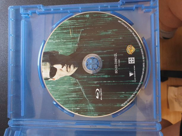 Film Matrix Revolutions Blu Ray disc
