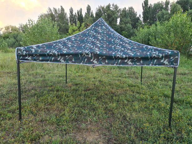 Cort pavilion pliabil 3×3 camuflaj armată pescuit camping rulota