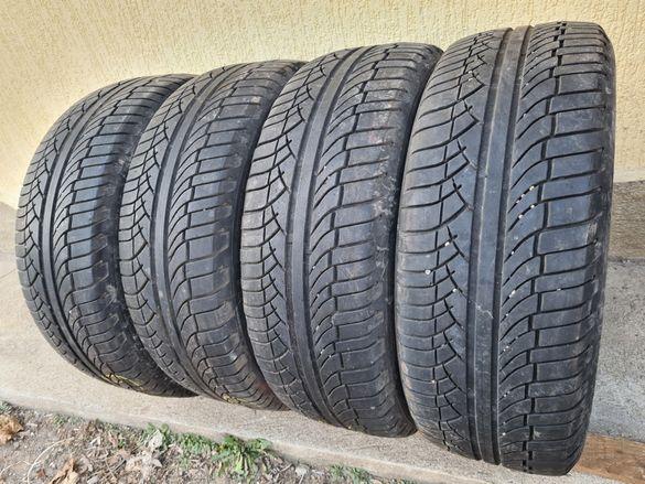 4 бр. летни гуми 225/55/18 Michelin 5 mm DOT 0413