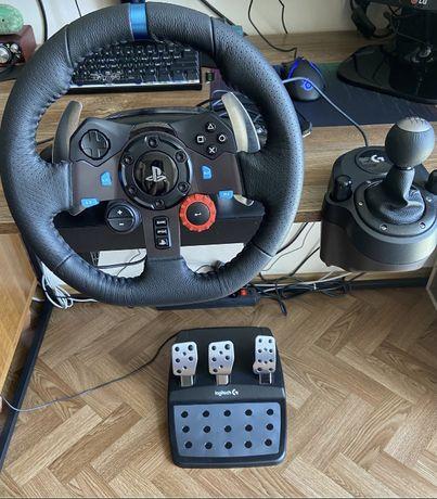 Logitech G29 Driving Force + Shifter!