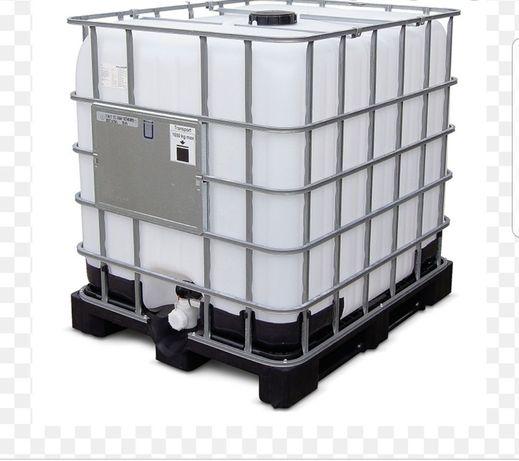 Butoi Bazin 1000 Litri IBC Rezervor Cub