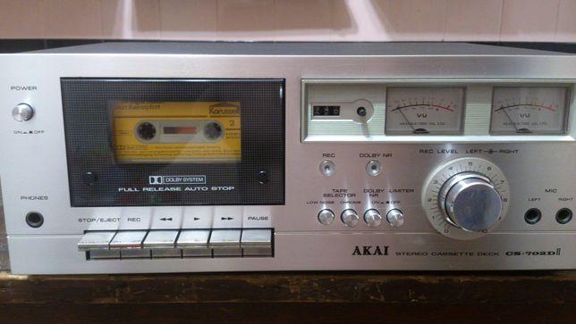 AKAI CS- 702 DII дека, магнитофон, кассетная дека.