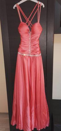 Бална рокля с чанта и шал