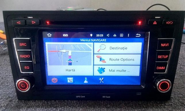 Navigatie Audi A4/RS4 /Seat Exeo ANDROID 8.0 OCTACORE 32GB/4GB
