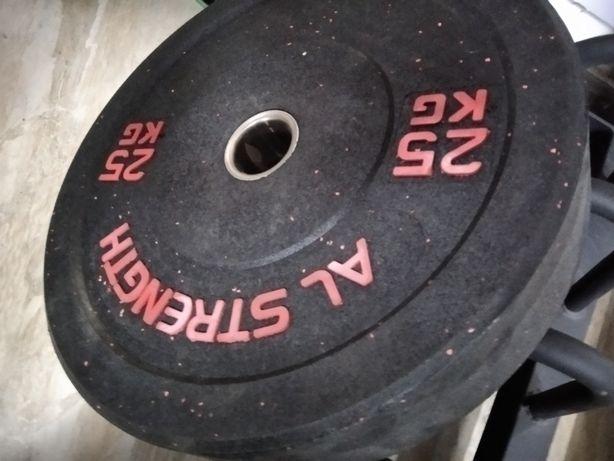 Бамперные диски 25 кг новые