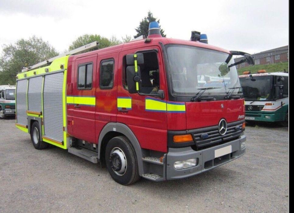 Masina de pompieri bazin apa 4000L Pantelimon - imagine 1