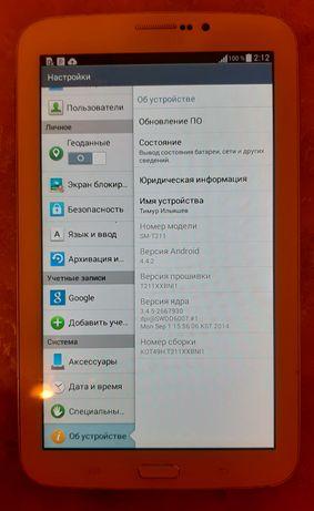 20.000! Планшет Samsung Galaxy Tab 3 с разъёмом сим картой