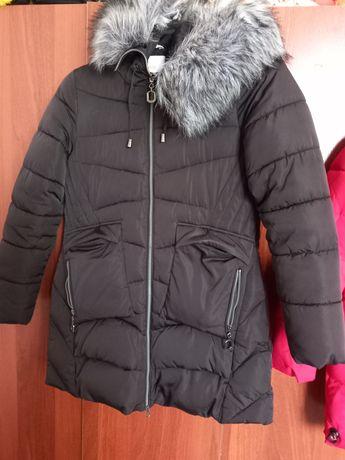 2 зимние  куртки