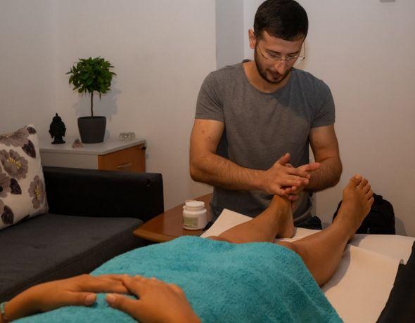 Masaj relaxare terapeutic reflexoterapie