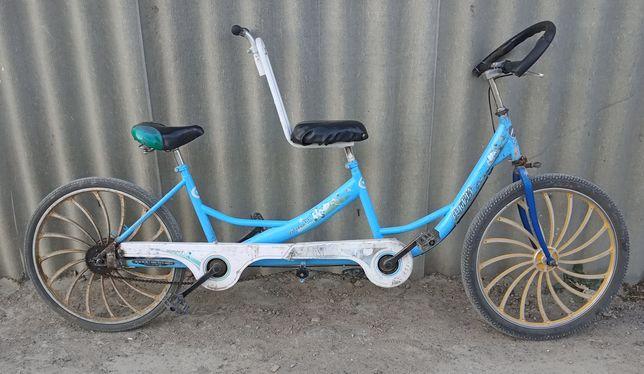 велосипед 2 адамдык