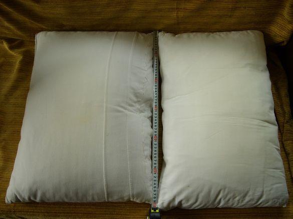Възглавници с пера и калъфки