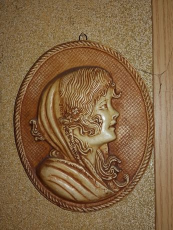 Tablou sculptura ceramica 195 x 60 mm
