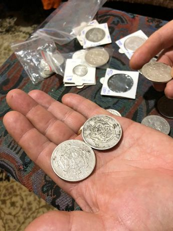 moneda argint 5 lei 1881