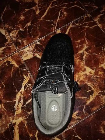 Работни обувки кожени