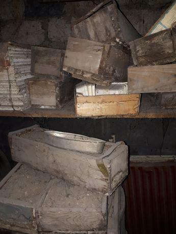 Деревянные ящики для рассады