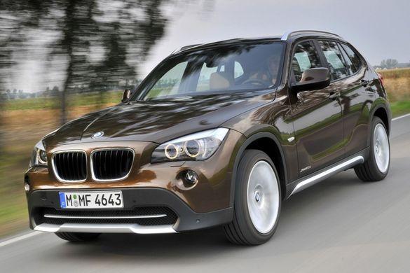 Нови оригинални релси за BMW X1 E84, напречни греди, багажник (БМВ)