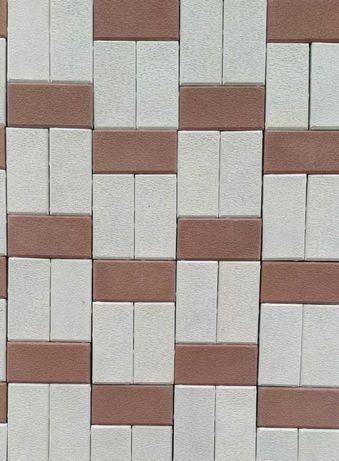 Pavele, pavaje beton curte, piatra decorativa model caramida 6