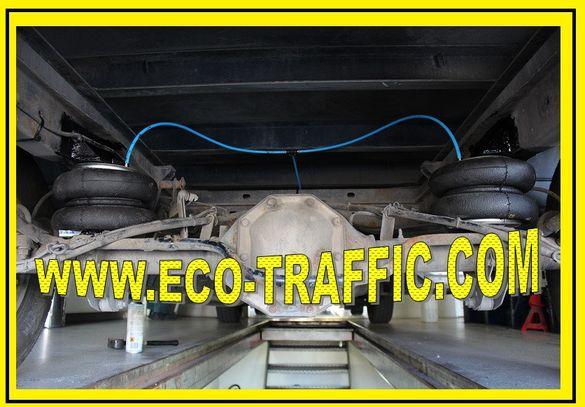 *монтаж на въздушни възглавници за бусове, кемпери, каравани*