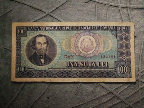 Bancnotă de 100 lei (1966)