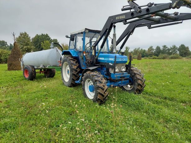 Tractor ford 6610 cu frontal