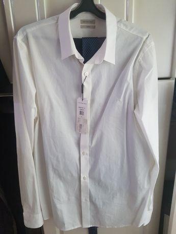 Рубашка белая Calvin Klein Jeans