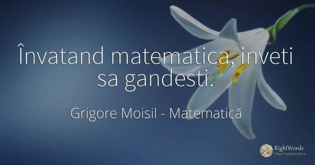 Meditatii matematica online