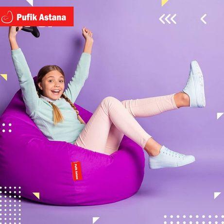 Пуф, кресло груша, пуфик, мягкой мебель, кресло мешок Астана