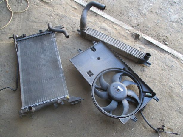Radiator apa racire intercooler ventilator Citroen Nemo Fiat Fiorino