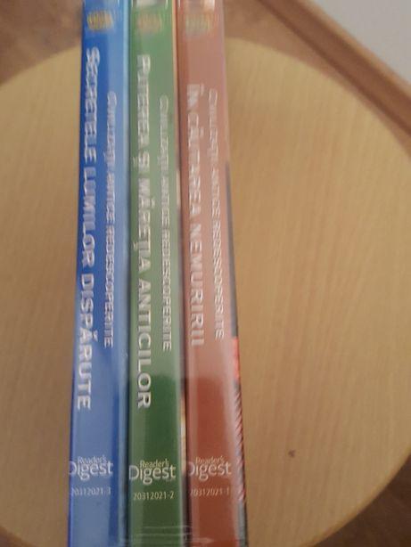 Set 3 dvd-uri seria Civilizatii antice redescoperite