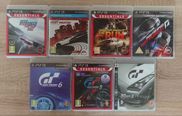 < PS3 cars > NFS / Need for Speed / Gran Turismo 6 F1 за PlayStation 3