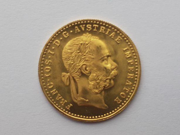 Moneda din aur 1 ducat Franz Joseph - Impecabilă
