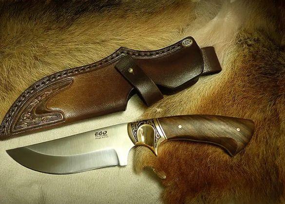 EGO, български ловен нож, с включена доставка
