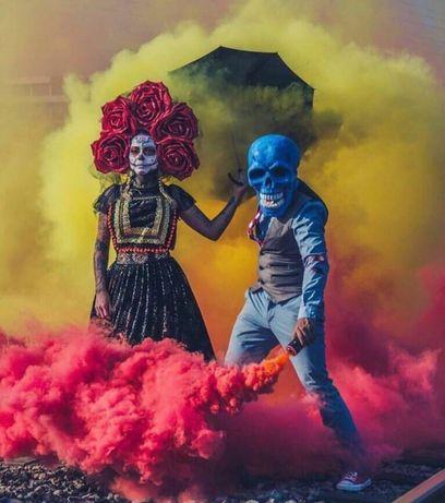 цветной дым тараз