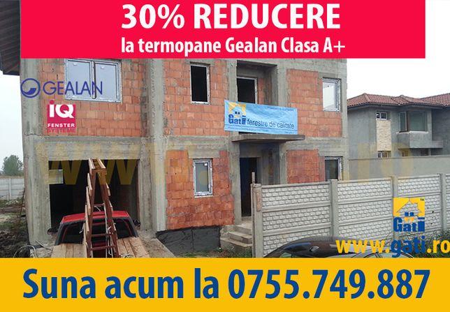 FABRICĂ Termopane Gealan ǁ Acum 30% REDUCERE în BUDA / ILFOV
