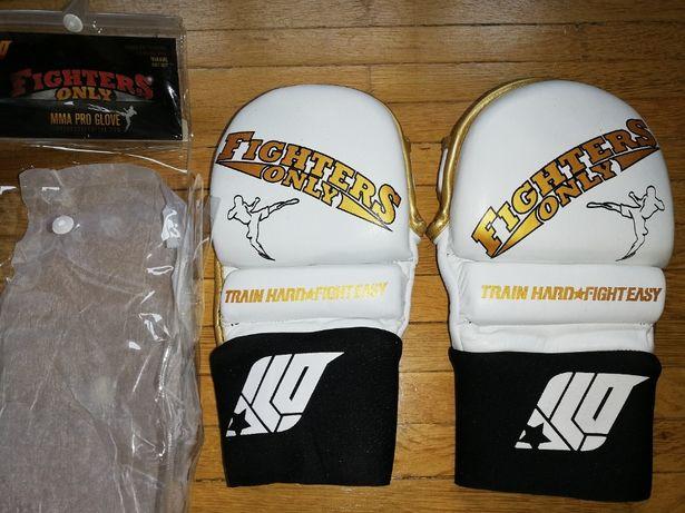 Manusi Fighters Only MMA Pro Glove din piele noi S-M