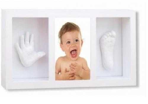 3D Отпечатък за ръка или краче с рамка за снимки