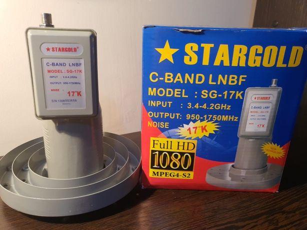 Головка спутниковая на один выход С Band Stargold