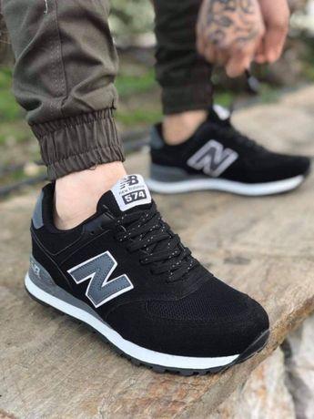 Adidasi Barbati New Balance Black & Gray!