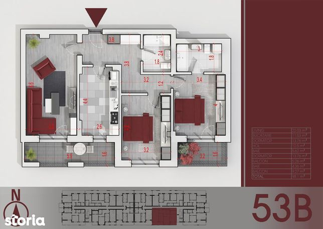 Apartament 3 camere zona Titan - Parcul Teilor - metrou Nicolae Teclu