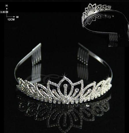 Diadema / coronita / tiara mireasa Glamorous