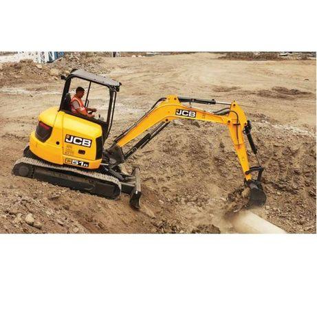 Excavam ,sapam santuri ,fundatii ,fose septice , decopertam teren