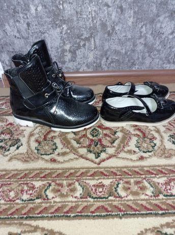 Продам обувь для девочек,туфли (гномик)размер 34,осенние 37 размер