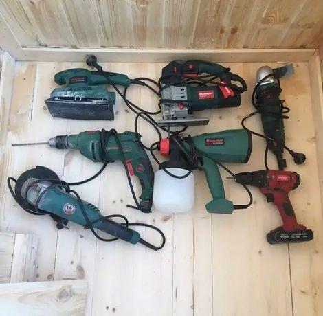 Аренда электро инструмента: отбойный молоток, перфоратор, болгарки...
