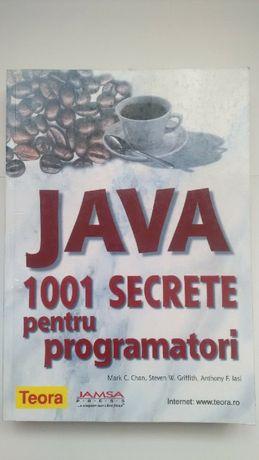 Vand Carte JAVA. 1001 secrete pentru Programatori (RARA)