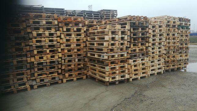 vând paleti din lemn în cantități mari