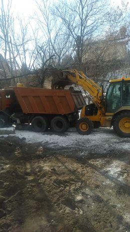 Вывоз мусора.   Вывоз снега.